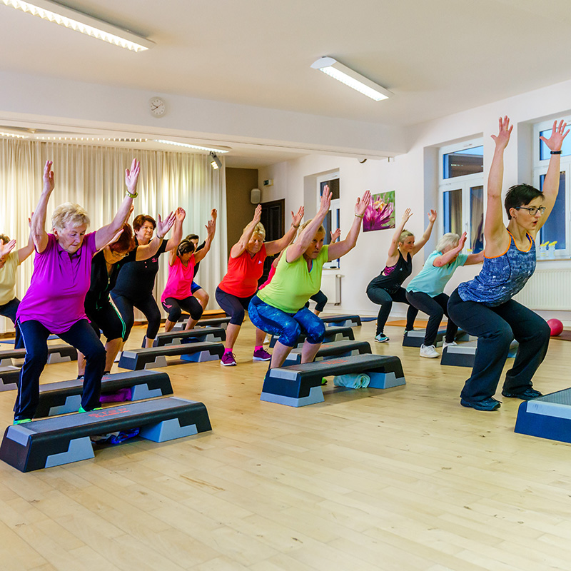 Fitness Training im INJOY Annaberg